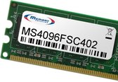 Memory Solution MS4096FSC402 4GB geheugenmodule