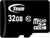 Team Group 32GB Micro SDHC 32GB Micro SDHC Class 10 flashgeheugen