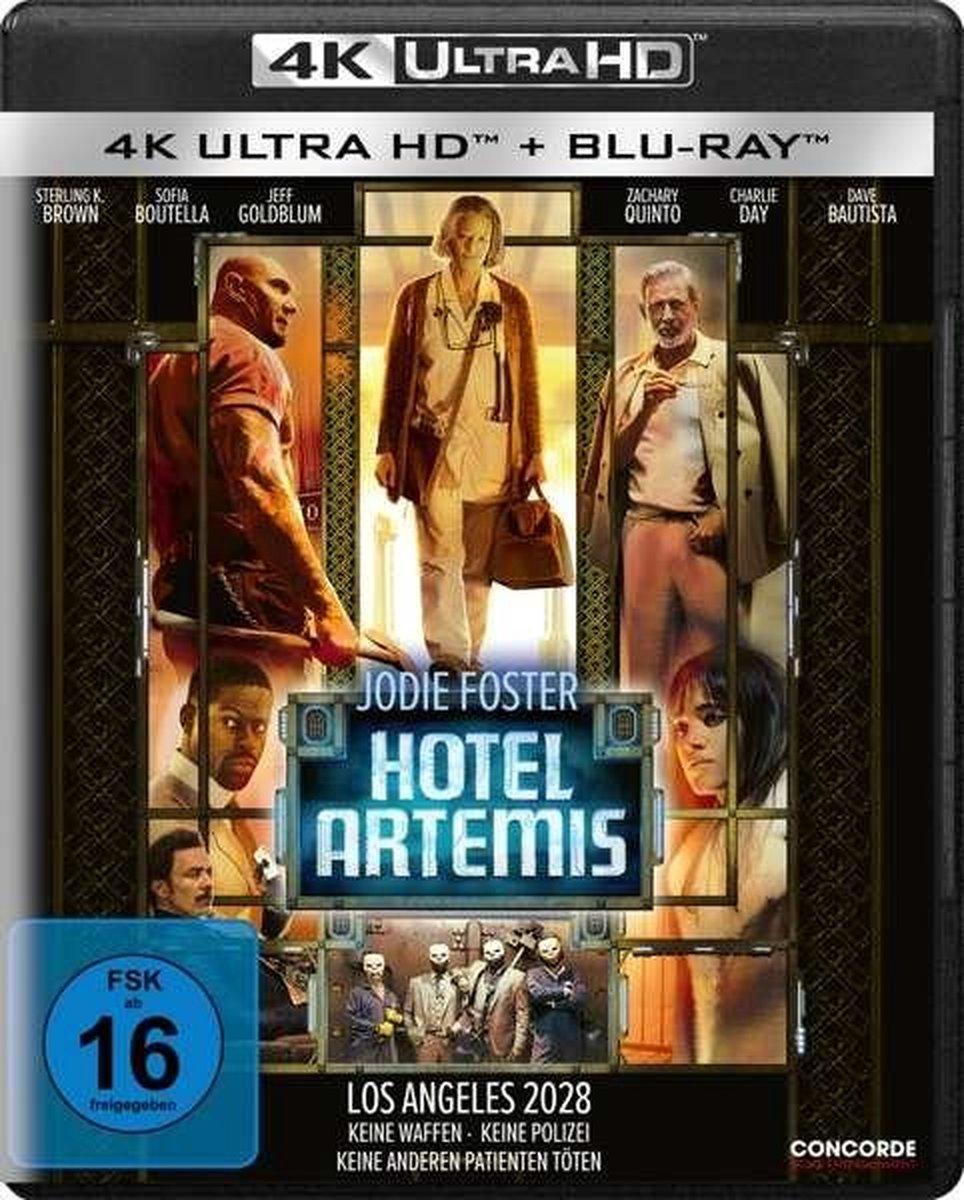 Hotel Artemis (Ultra HD Blu-ray & Blu-ray)-