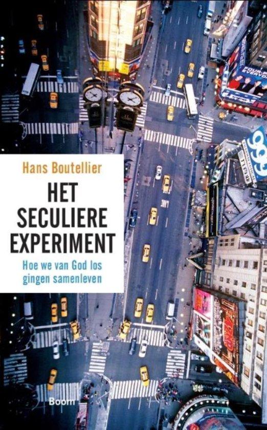 Boek cover Het seculiere experiment van Hans Boutellier (Onbekend)