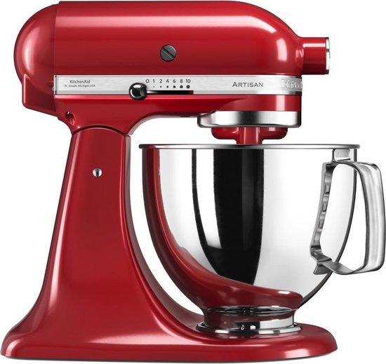 KitchenAid Artisan 5KSM125EER Keukenmachine Keizerrood