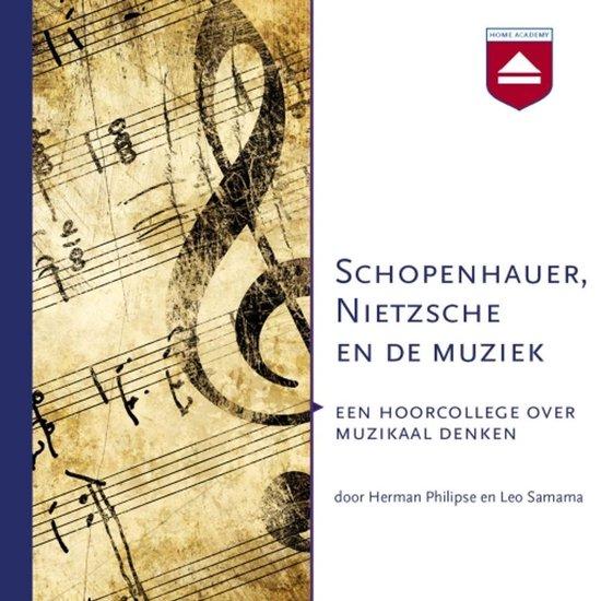 Boek cover Schopenhauer, Nietzsche en de muziek van Herman Philipse (Onbekend)