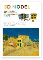 3D Model - Het gele huis. Bouw Vincent van Gogh zijn atelier na en richt het in!