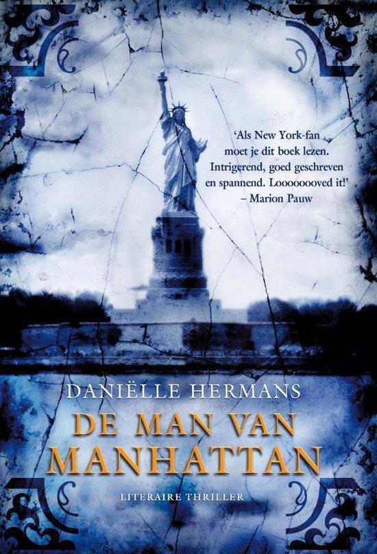 Cover van het boek 'De man van Manhattan' van D. Hermans
