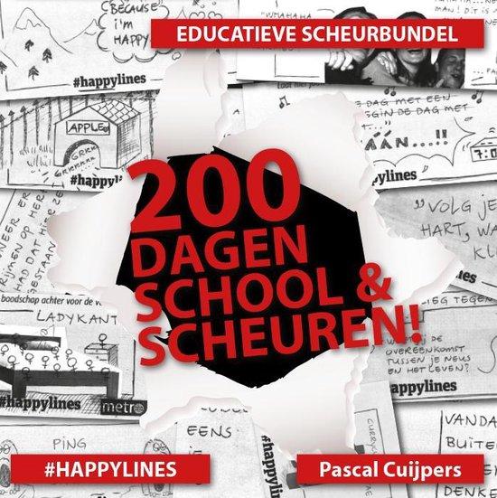200 dagen school en scheuren!