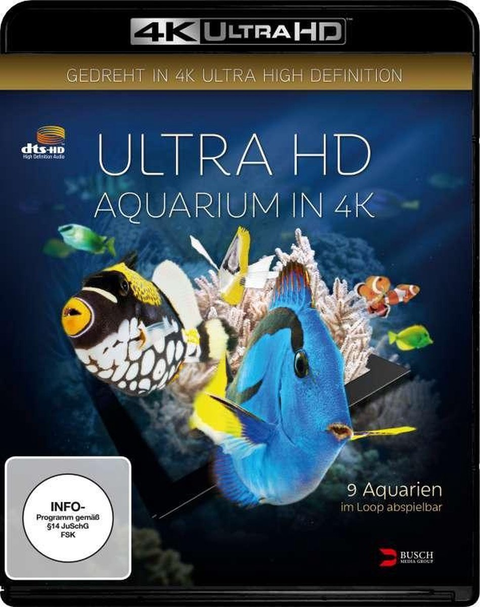 Aquarium in 4K (Ultra HD Blu-ray)-