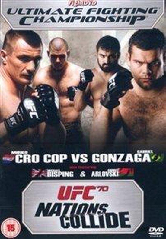 Cover van de film 'UFC 70 - Nations Collide'