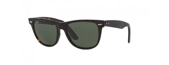 Ray-Ban RB2140 902 - zonnebril - Original Wayfarer - Tortoise/Groen - 47mm