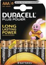 Duracell AAA Plus Power - 8 stuks