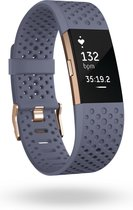 Fitbit Charge 2 Polsband activiteitentracker Roségoud OLED