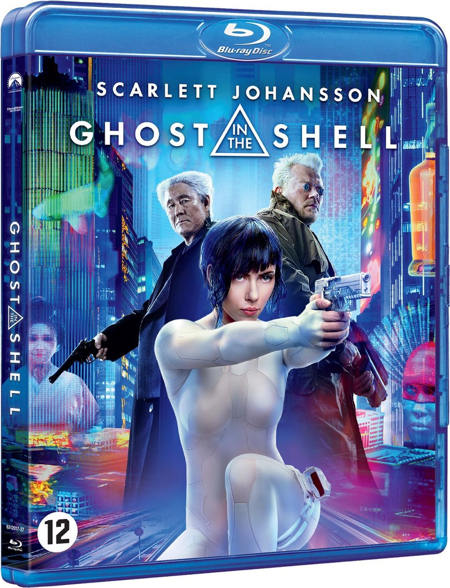 Ghost In The Shell (Blu-ray) - Movie