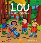 Lou in het herfstbos