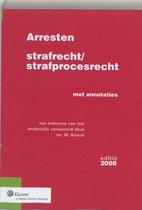 Arresten Strafrecht/Strafprocesrecht / 2008