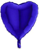 GRABO 18010BC-P Heart Shape Balloon Single Pack, Length-18 I