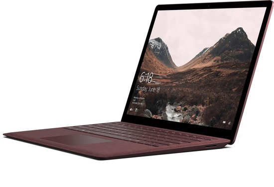 Microsoft Surface Laptop Core i5 8 GB 256 GB rood