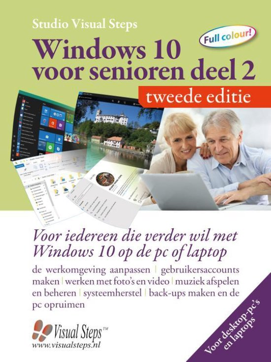 Afbeelding van Windows 10 voor senioren deel 2 – tweede editie