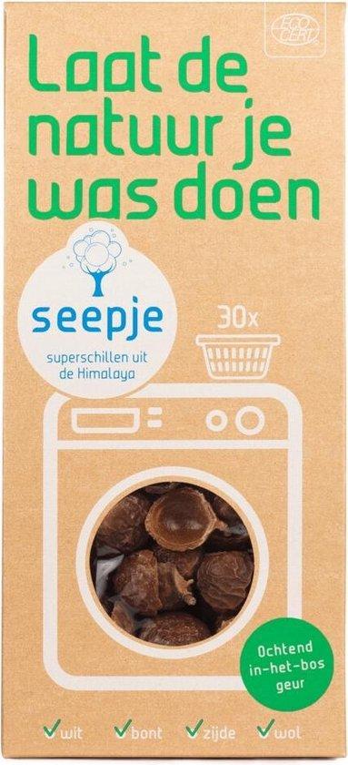 SEEPJE | Wasmiddel | Ochtend in het bos geur | 150 gr Zeepschillen | 30 Wasbeurten