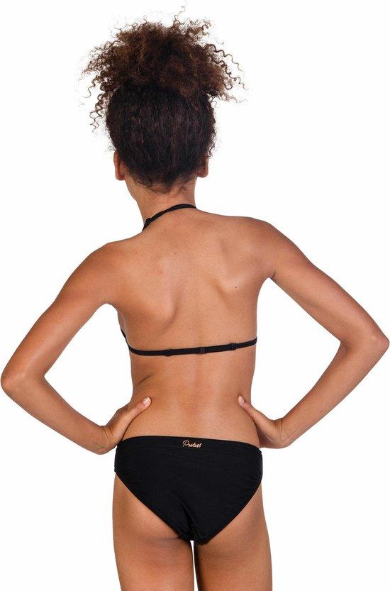 RIFKA 18 JR Meisjes Triangle Bikini - True Black - Maat 128 - Protest