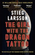 Omslag The Girl with the Dragon Tattoo
