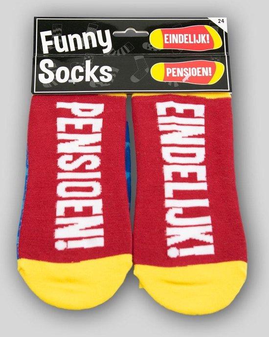 Sokken - Eindelijk pensioen! - Funny socks