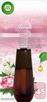 Air Wick Essential Mist Jasmijn & Pioenroos - Navulling - 20 ml
