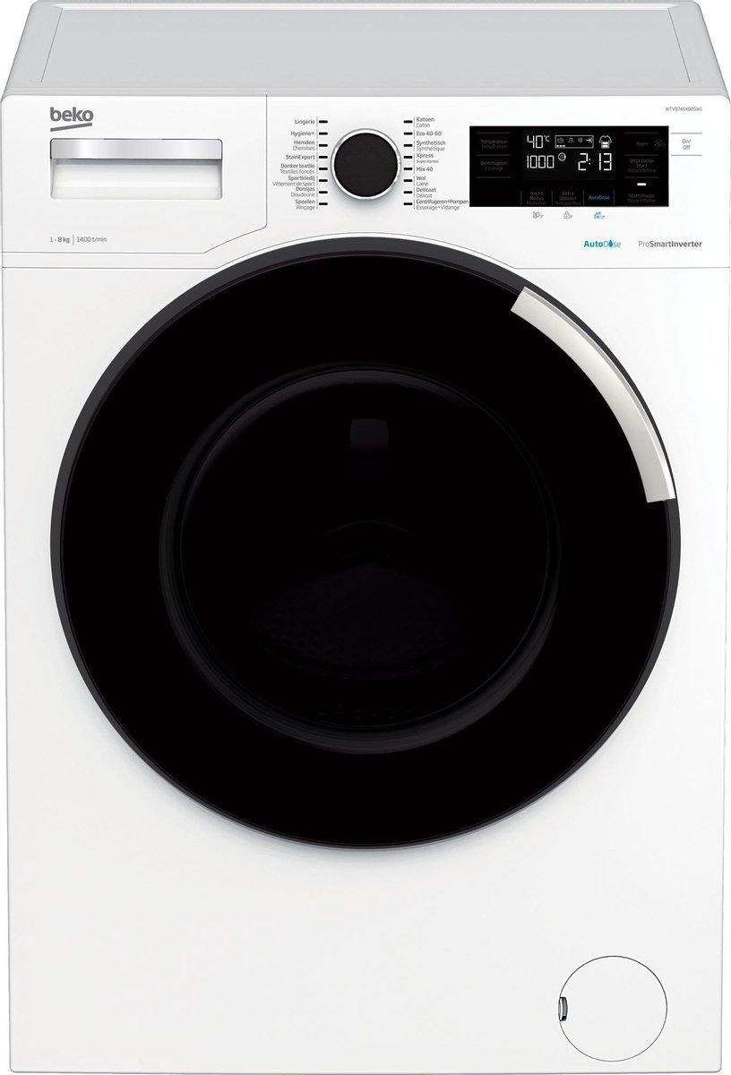 Beko WTV8745XDOSW1 – Wasmachine