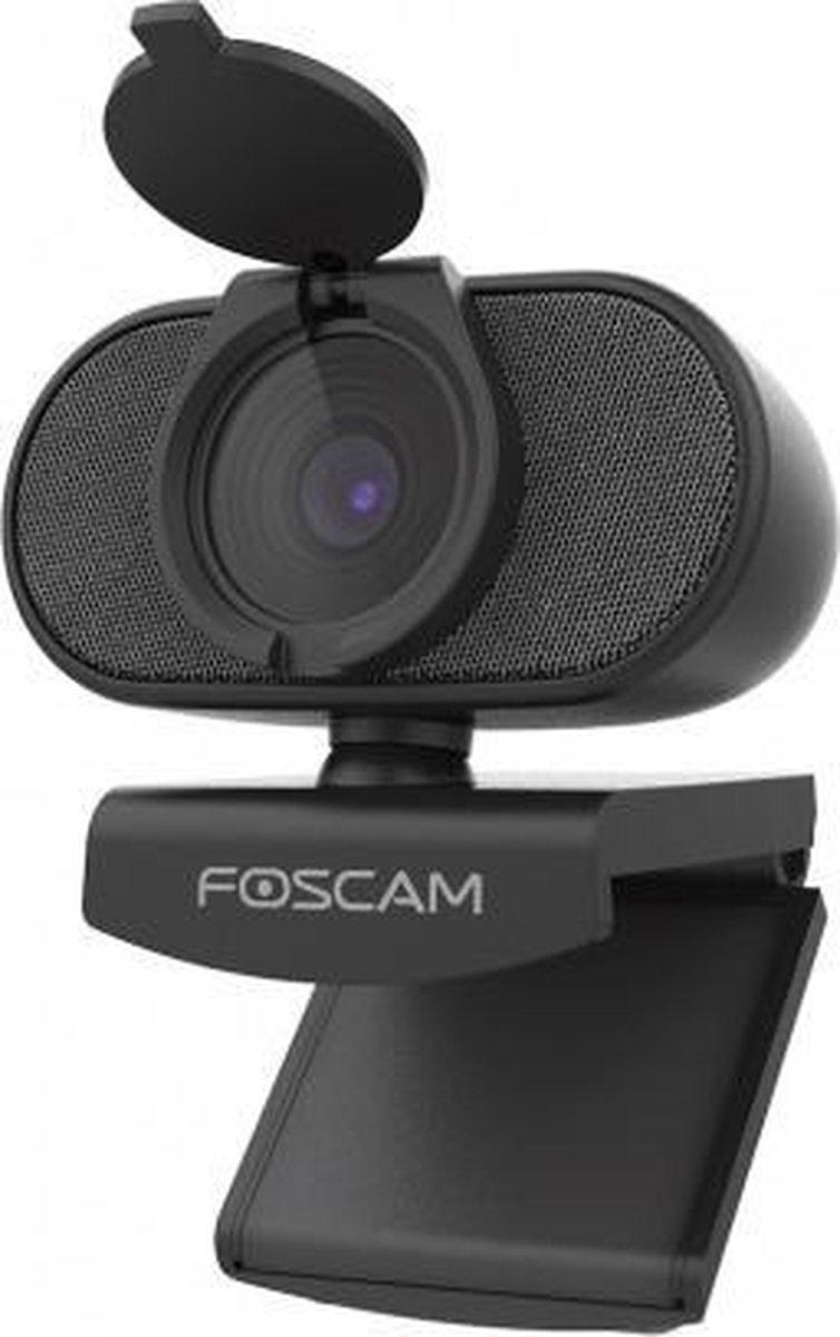 Foscam W81 4K-webcam 3840 x 2160 Pixel Klemhouder, Standvoet