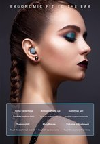Bovadi® M6 Oordopjes Bluetooth 5.1 Draadloze Touch Control