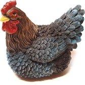 Kip beeld 26 cm donker kippen beeld | GerichteKeuze