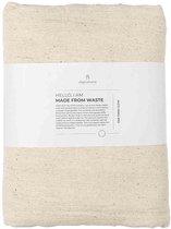 Original Home Plaid Creme - Cloth Handwoven (fringes) - 250 x 130 cm