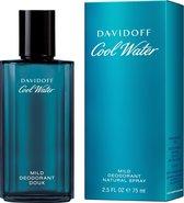 Davidoff Cool Water Mild Deodorant Spray - 75 ml