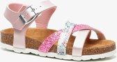 Hush Puppies meisjes bio sandalen met glitters - Roze - Maat 32