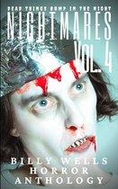 Omslag Nightmares- Volume 4- A Billy Wells Horror Anthology