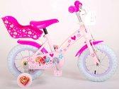 Paw Patrol Kinderfiets - Meisjes - 12 inch - Roze