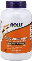 Glucomannan 575mg - 180 capsules