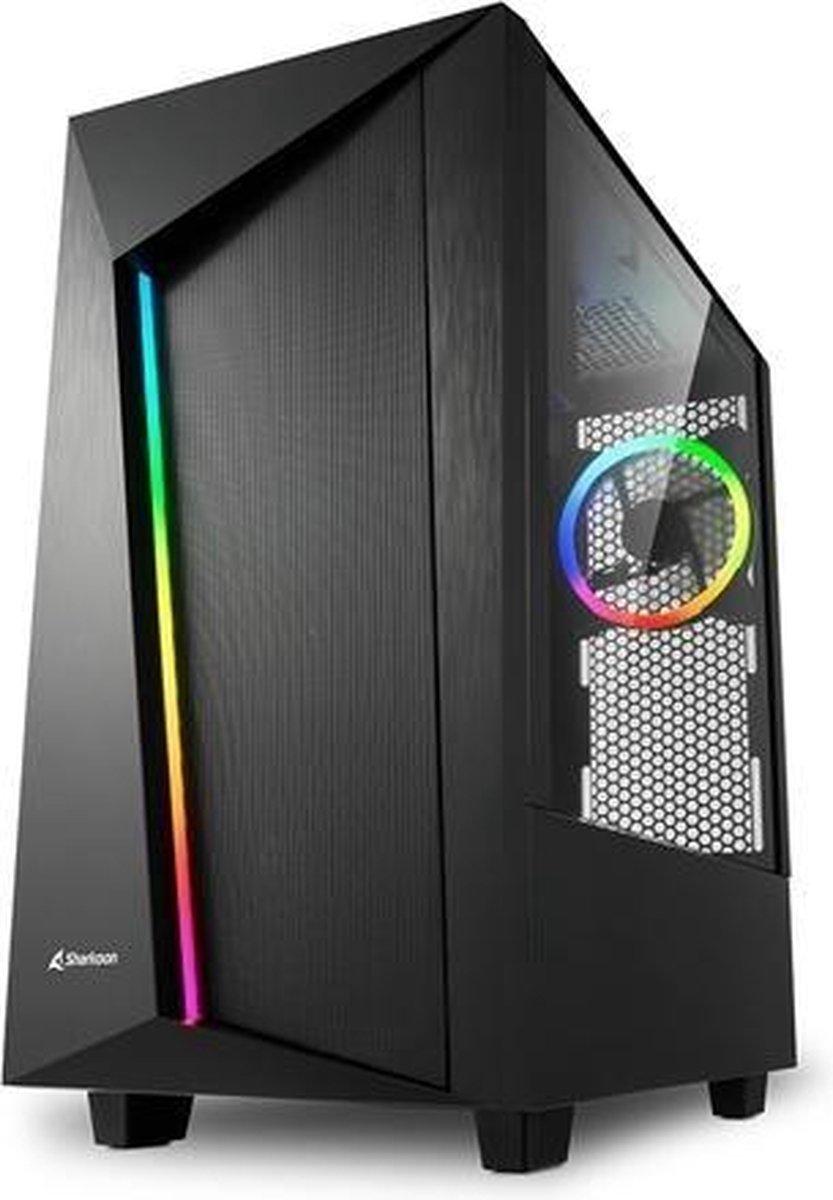 AMD Ryzen 5 3600 RGB Game PC - RTX 3070 - 16GB RAM - 512GB SSD (M2.0, NVMe) - REV100