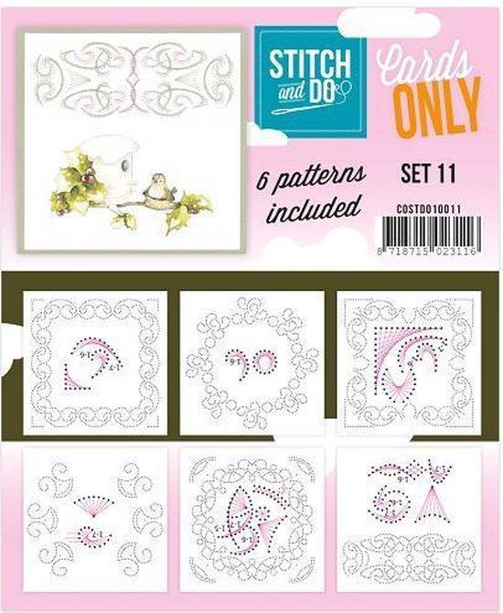 Afbeelding van het spel Stitch & Do - Cards only - Set 11