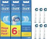 Oral-B Precision Clean - Opzetborstels - 6 stuks - Wit