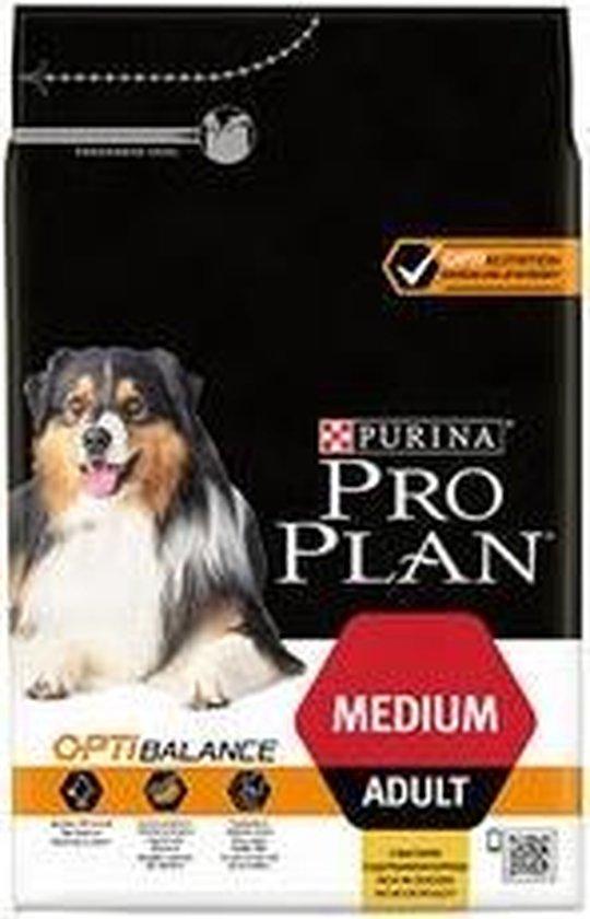 Pro Plan Medium Adult - Hondenvoer Kip met Optibalance - 14 kg - Pro Plan