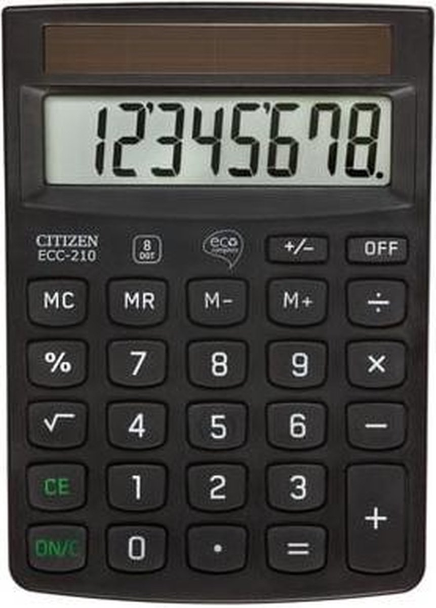 Citizen ECC-210 - Bureaurekenmachine