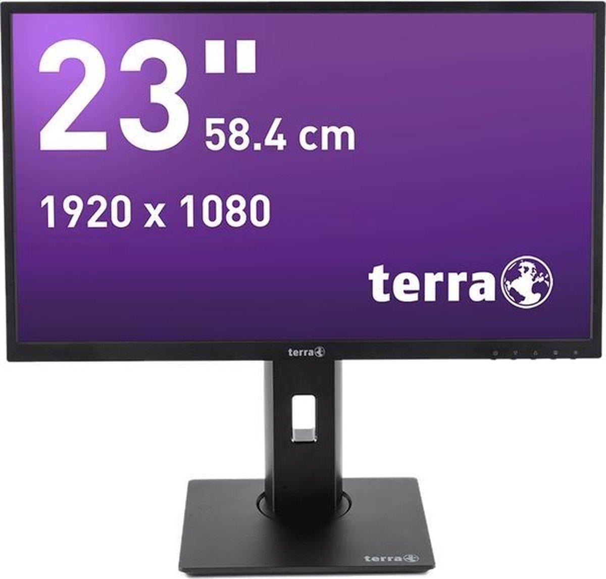 Wortmann AG TERRA 2311W PV 58,4 cm (23) 1920 x 1080 Pixels Full HD LED Zwart