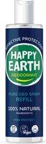 Happy Earth Pure Deodorant Spray Navulling Men Protect 300 ml - 100% natuurlijk