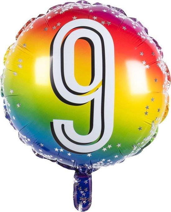 Boland Folieballon Cijfer
