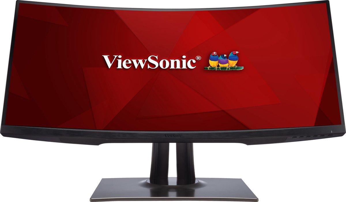 Viewsonic VP Series VP3481 LED display 86,4 cm (34) 3440 x 1440 Pixels Wide Quad HD+ Zwart