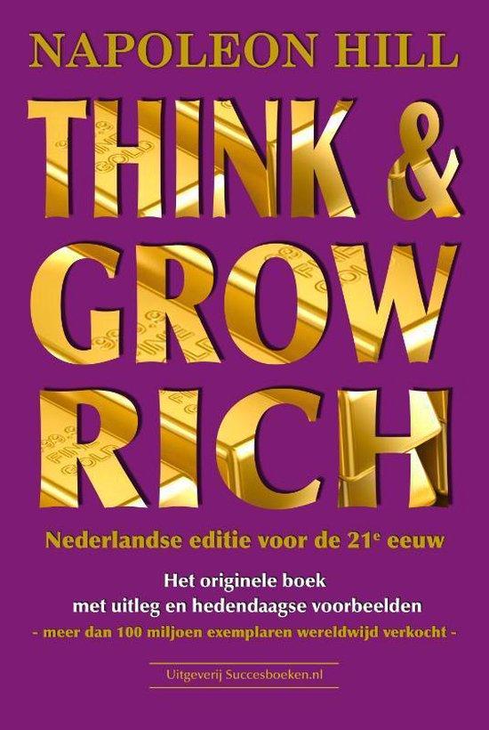 Boek cover Think & Grow Rich van N. Hill (Paperback)