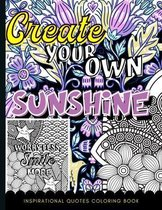 Inspirational Quotes Coloring Book