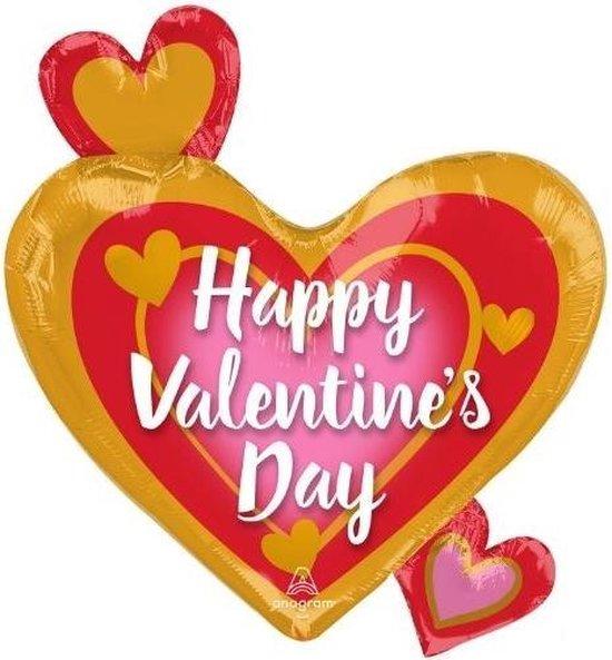 Anagram Folieballon Happy Valentine