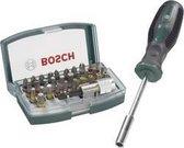 Bosch 32-delige bitset - Met kleurcodering en handschroevendraaier
