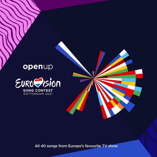 CD cover van Eurovision Song Contest 2021 van Eurovisie Songfestival