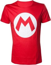 NINTENDO - T-Shirt Mario Logo - Red (XL)